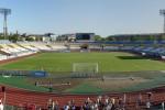 поле стадиона
