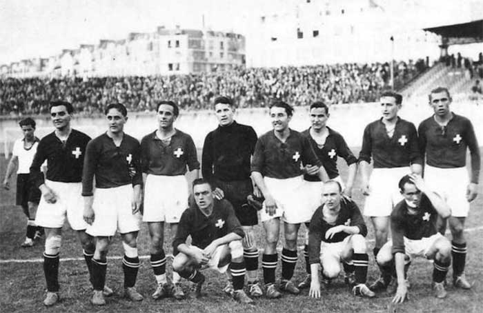 09.06.1938. Germany - Switzerland - 2:4. Switzerland national team