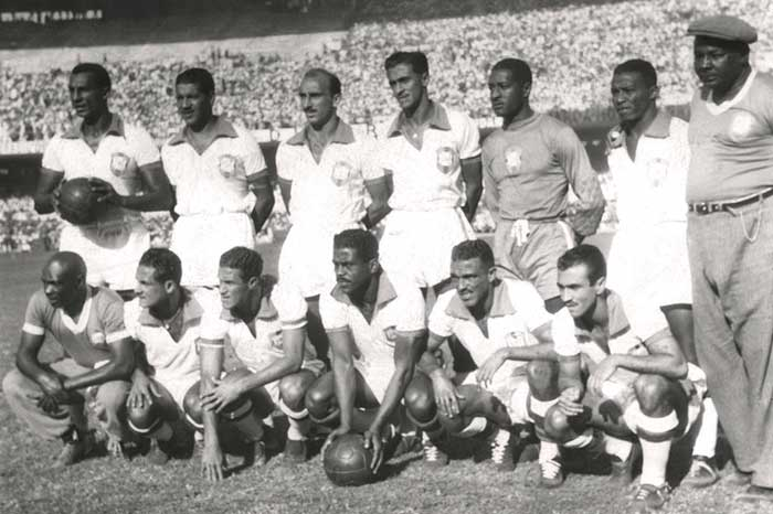 24.06.1950. Brazil - Mexico 4:0. Brazil national team