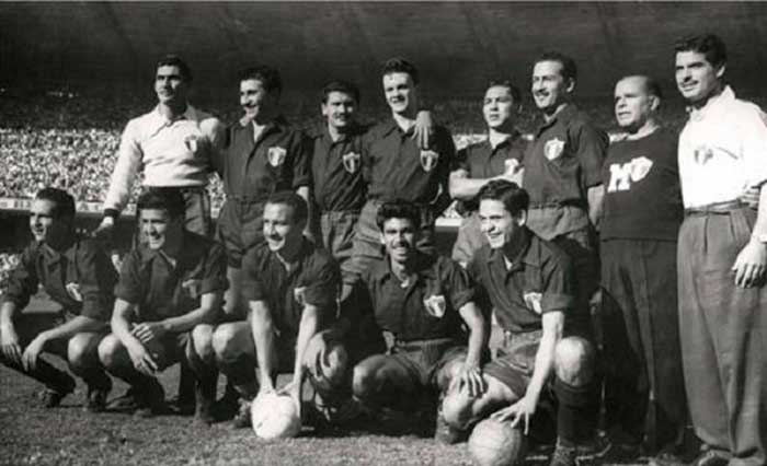 24.06.1950. Brazil - Mexico 4:0. Mexico national team