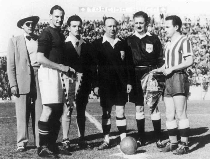 1950.07.02. Switzerland - Mexico - 2:1